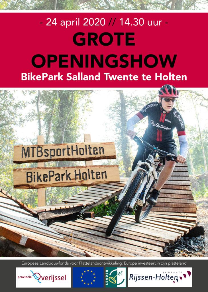 Flyer: BikePark Holten openings show